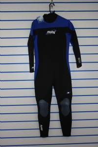 Moby Mens Full Wetsuit Size Large